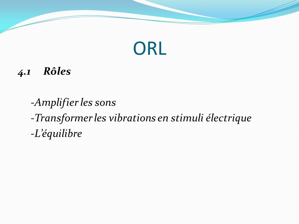 ORL 4.1 Rôles -Amplifier les sons