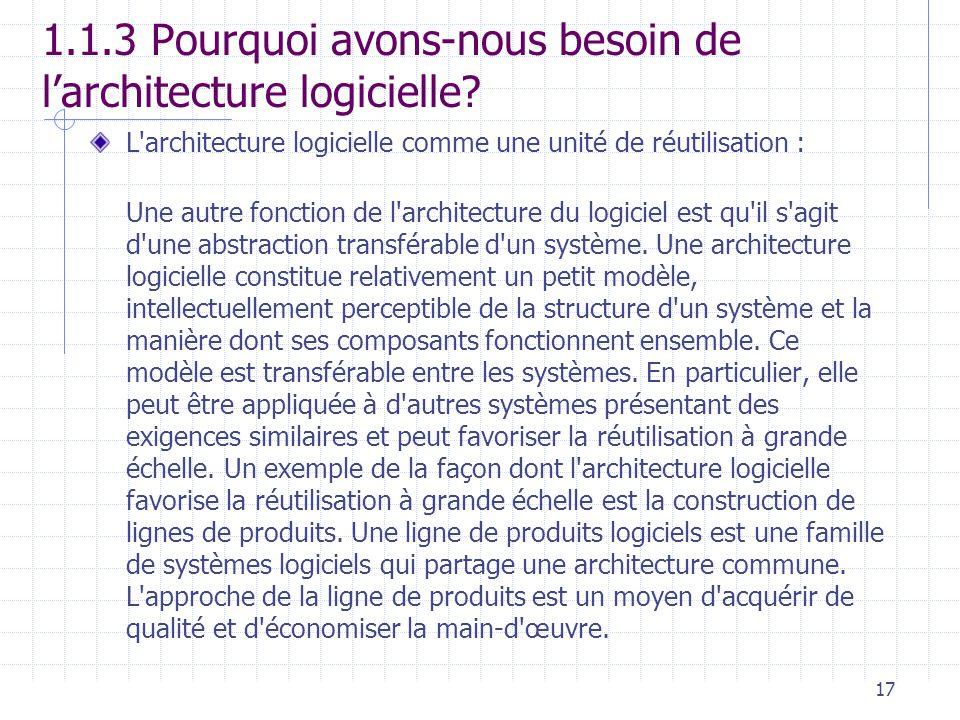 Architecture logicielle ppt video online t l charger for Architecture logicielle exemple