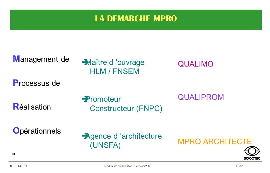 Preparation a la certification qualiprom ppt t l charger for Architecte maitre d oeuvre ou constructeur