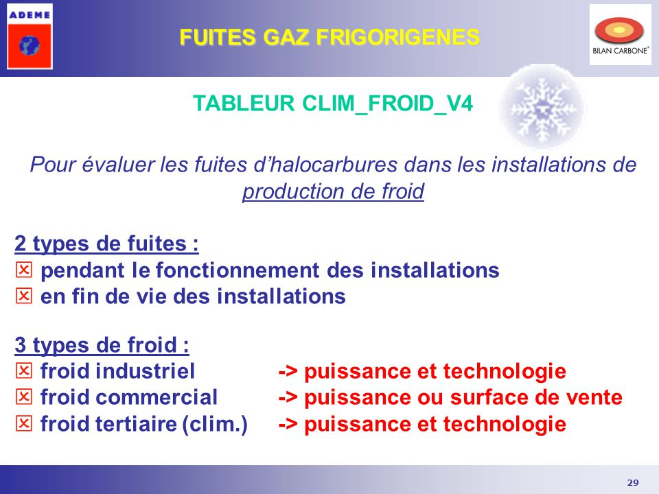 Ademe formation edition ppt t l charger - Calcul puissance clim ...