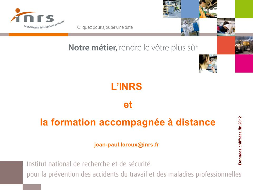 formation a distance inrs