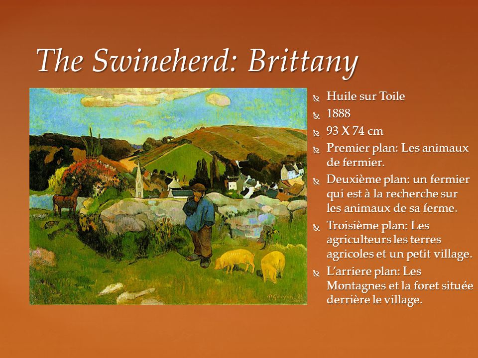 The Swineherd: Brittany
