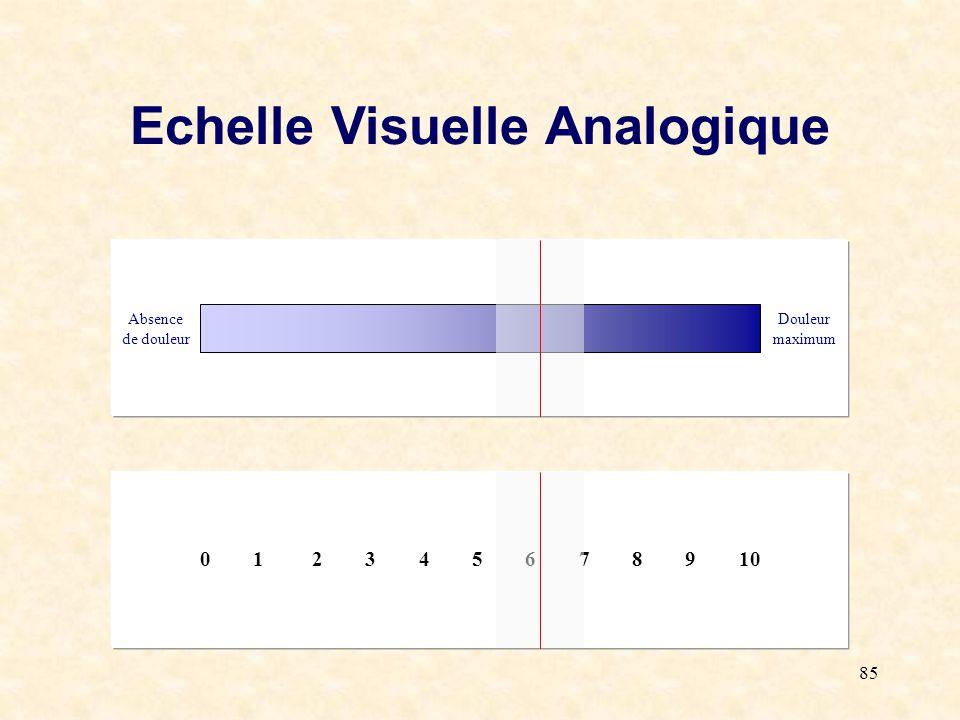 Echelle Visuelle Analogique