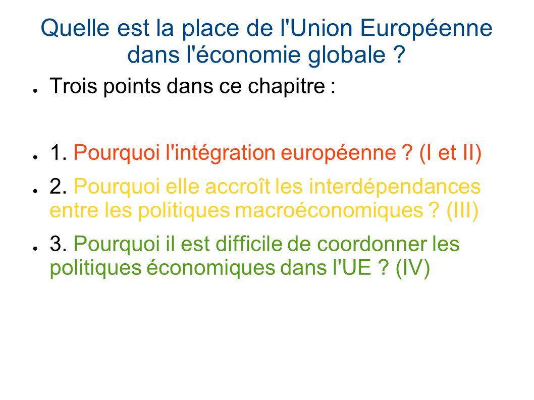 Quelle est la place de l 39 union europ enne dans l 39 conomie - La chambre des preteurs de l union europeenne ...
