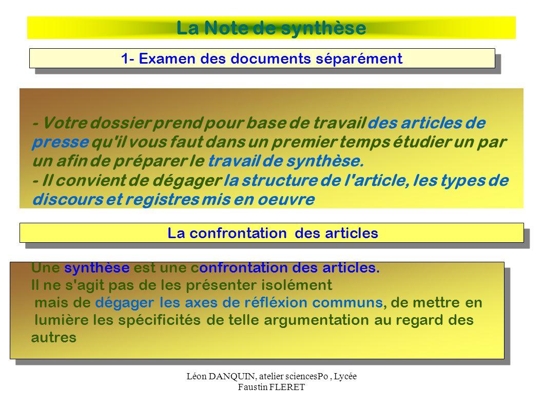atelier sciencespo conseils de m u00e9thode pour la note de synth u00e8se