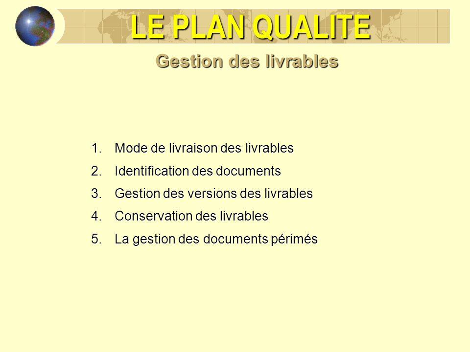 LE PLAN QUALITE Utilité du plan qualité : - ppt video ...