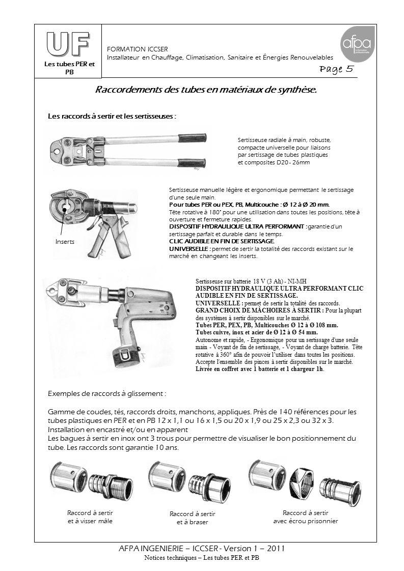 Dilatation et protection des tubes dans les réseaux hydrocâblés.