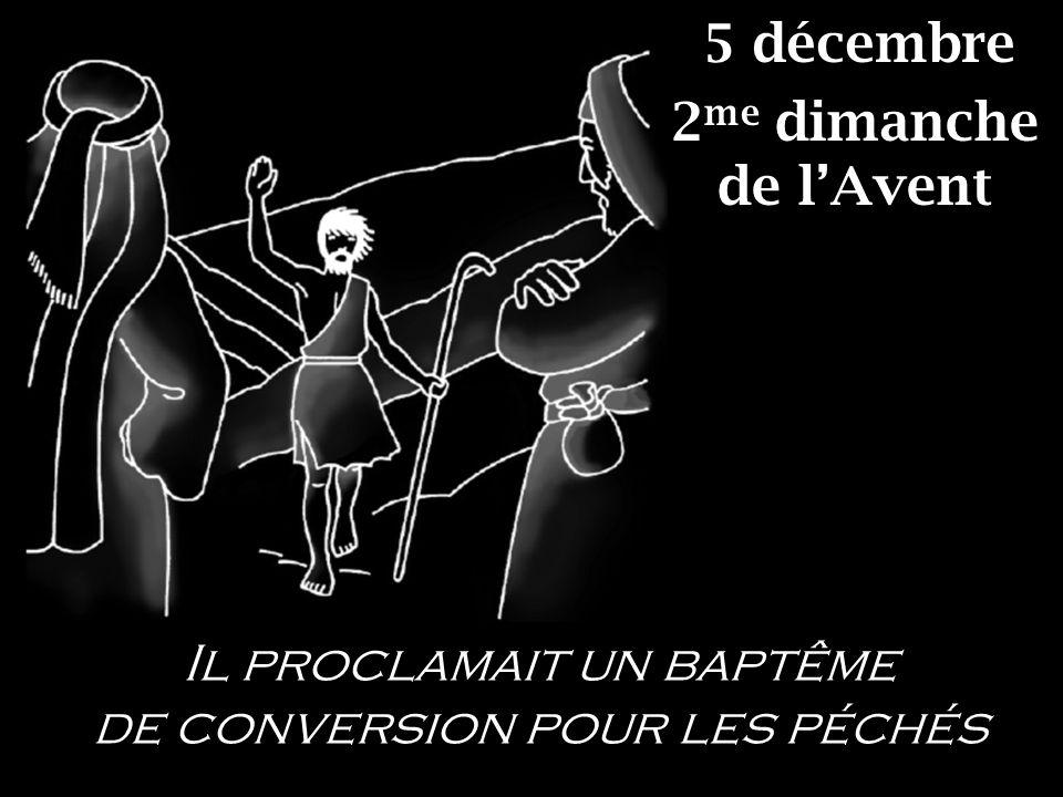 5 décembre 2me dimanche de l'Avent