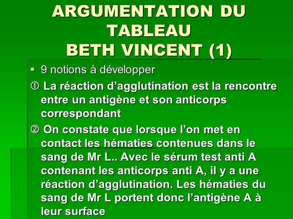 ARGUMENTATION DU TABLEAU BETH VINCENT (1)