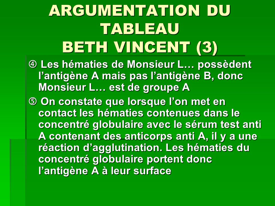 ARGUMENTATION DU TABLEAU BETH VINCENT (3)