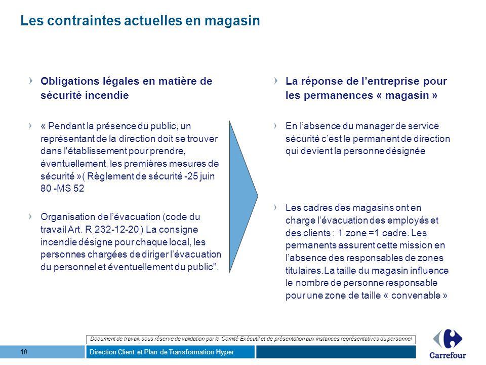 Organisation des Permanences dans le Nouveau Modèle ...
