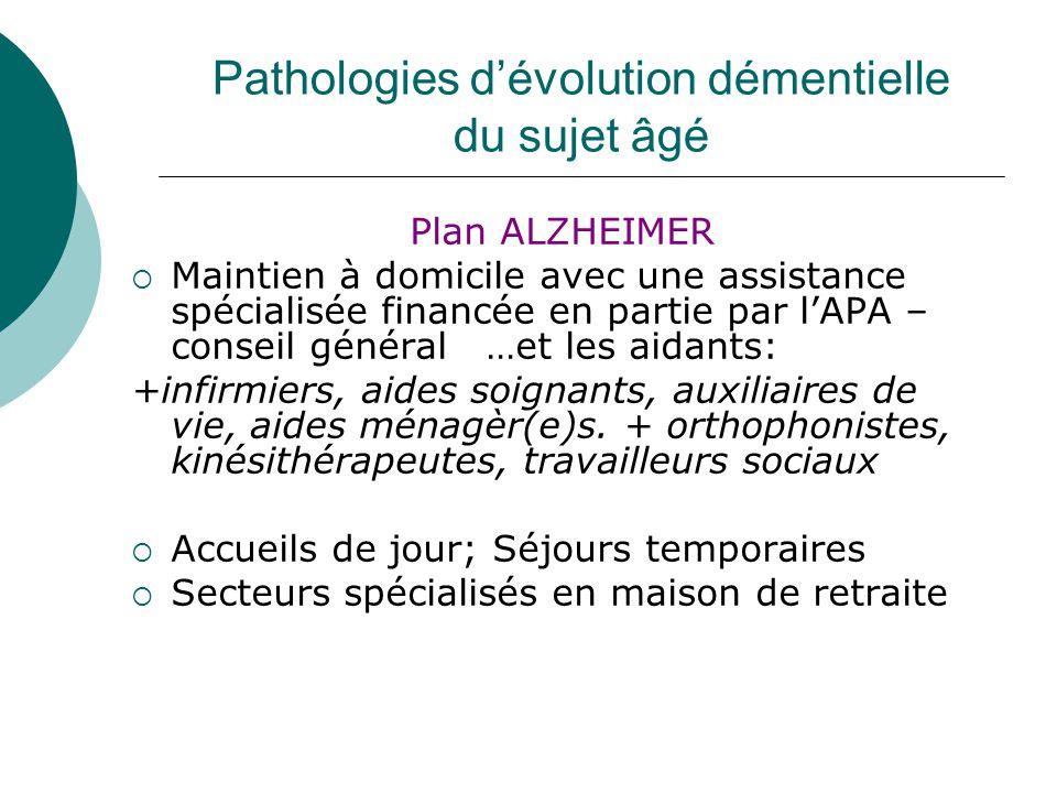 Pathologies neuro d g n ratives chez le sujet g ppt for Auxiliaire de vie en maison de retraite