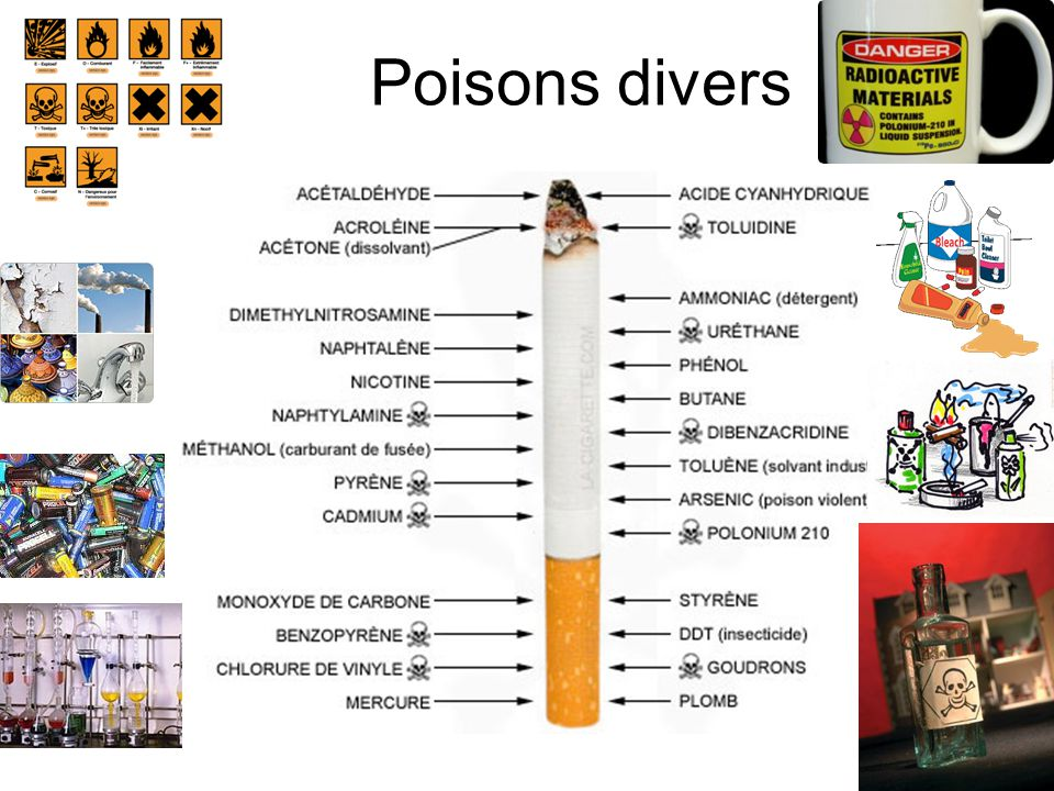 Poisons divers