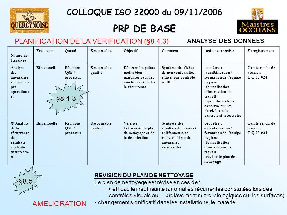 Pr sentation de la quercynoise ppt t l charger - Plan de nettoyage et de desinfection cuisine ...