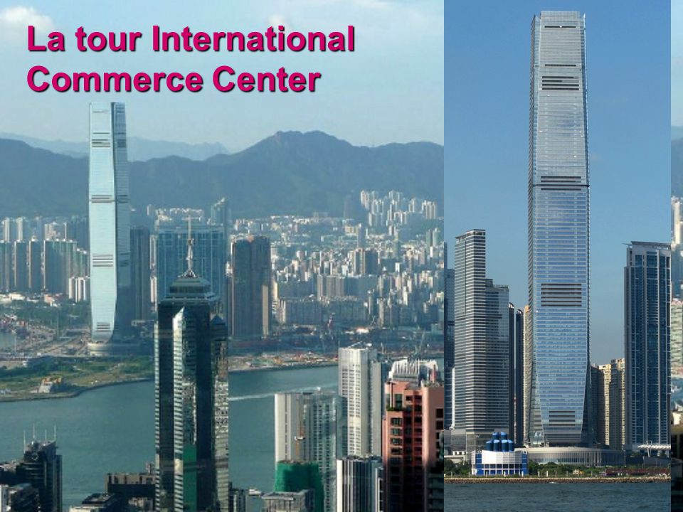 La tour International Commerce Center