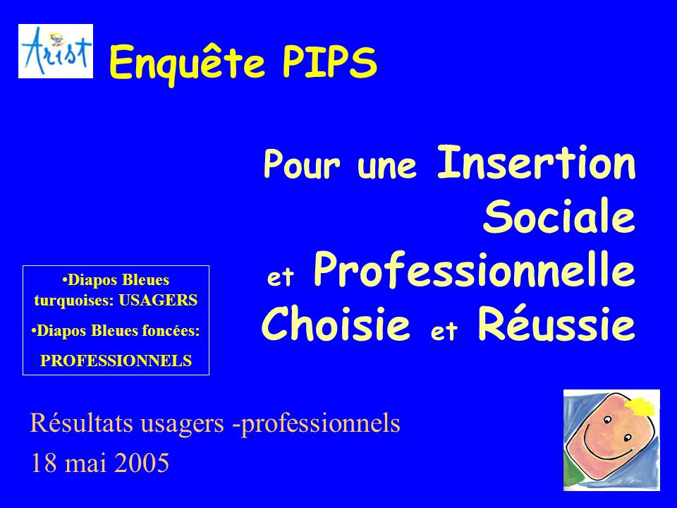 Pour une Insertion Sociale et Professionnelle Choisie et Réussie