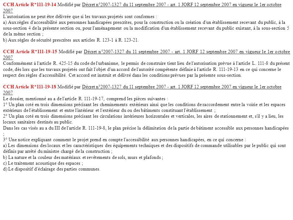 18 Article R. 111-19-2 Modifié par Décret n°2006-555 du 17 mai 2006 ...