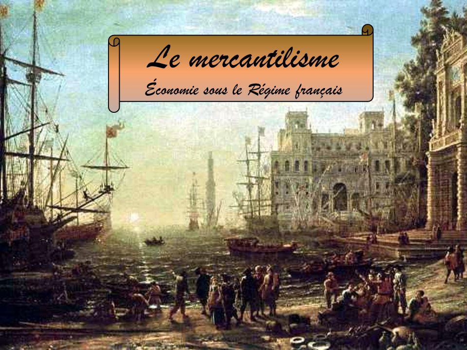 Économie sous le Régime français