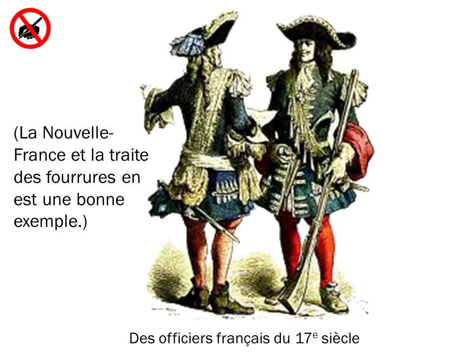 Des officiers français du 17e siècle