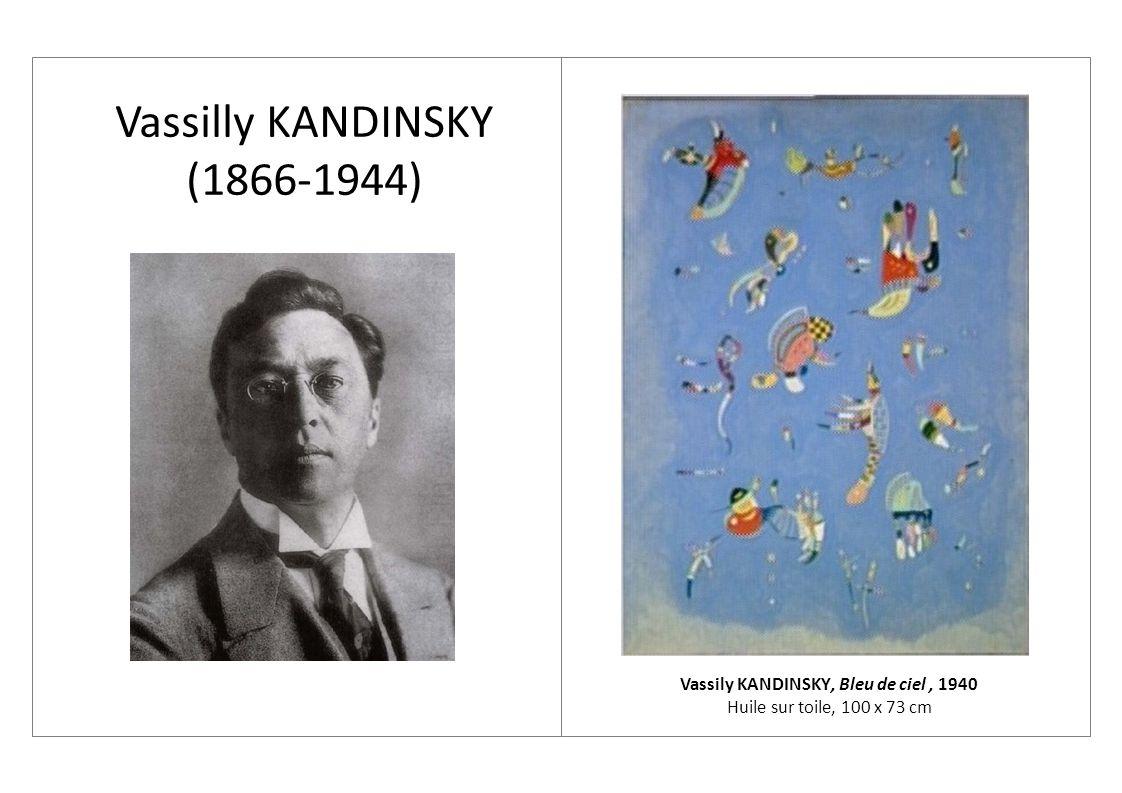 Vassily KANDINSKY, Bleu de ciel , ppt video online télécharger