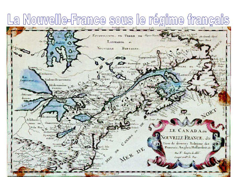 La Nouvelle-France sous le régime français