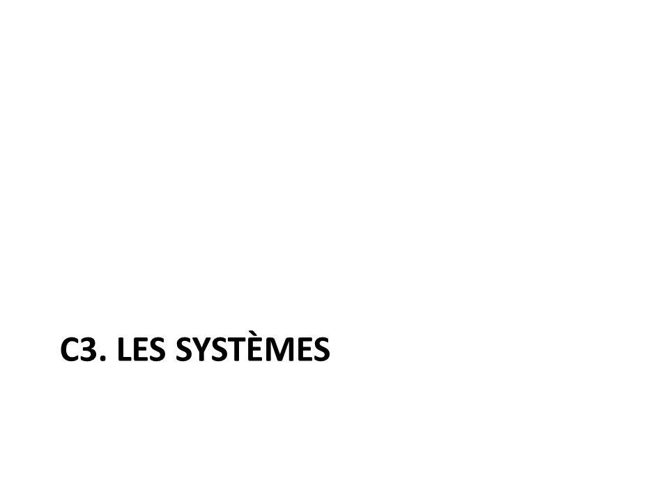 C3. Les systèmes