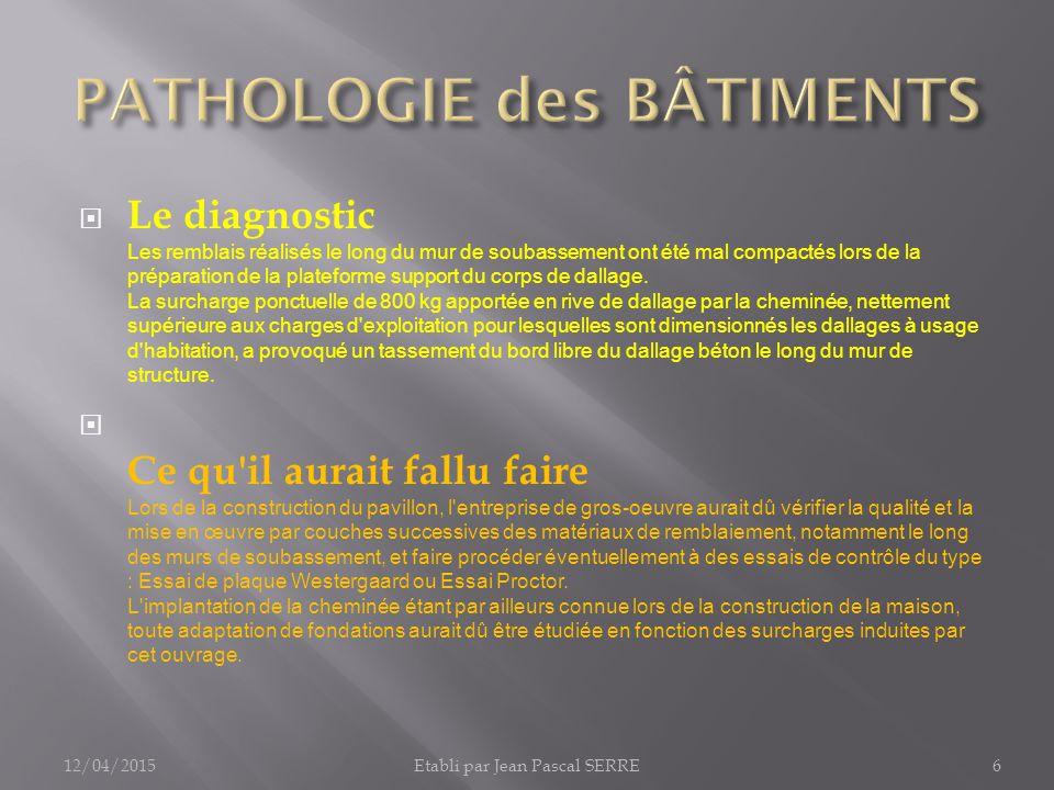 pathologie des b timents ppt video online t l charger. Black Bedroom Furniture Sets. Home Design Ideas