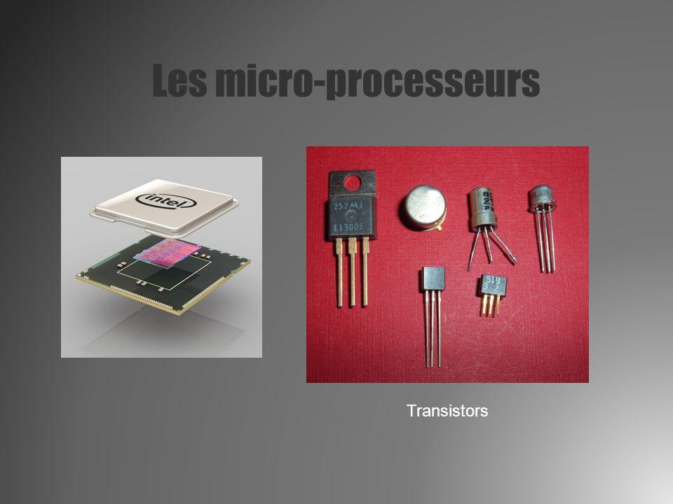 Les micro-processeurs