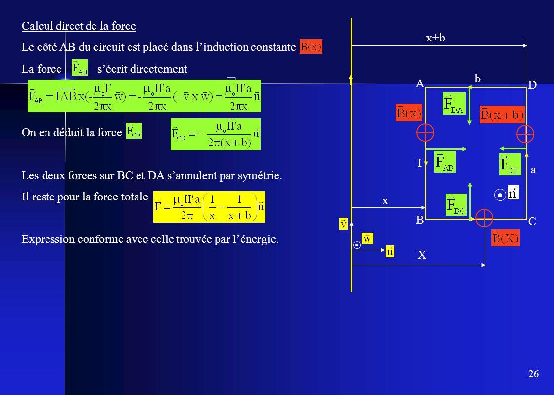 B iii loi de laplace b iii 1 charges en mouvement dans un - Simulation direct energie ...