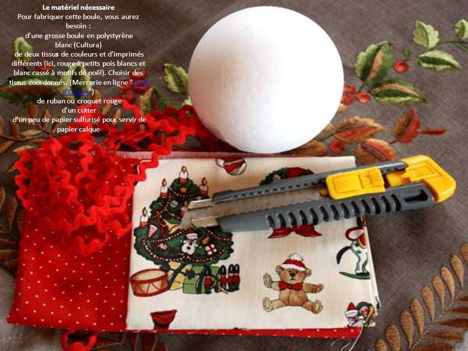 fabriquer une boule de no l en tissu patchwork ppt t l charger. Black Bedroom Furniture Sets. Home Design Ideas