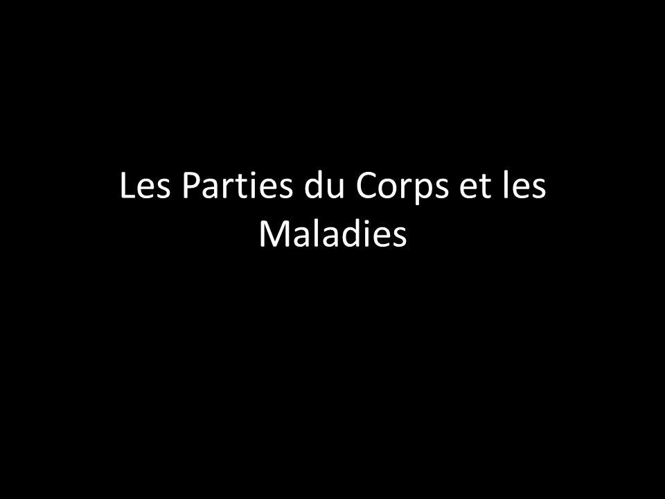Les Parties du Corps et les Maladies