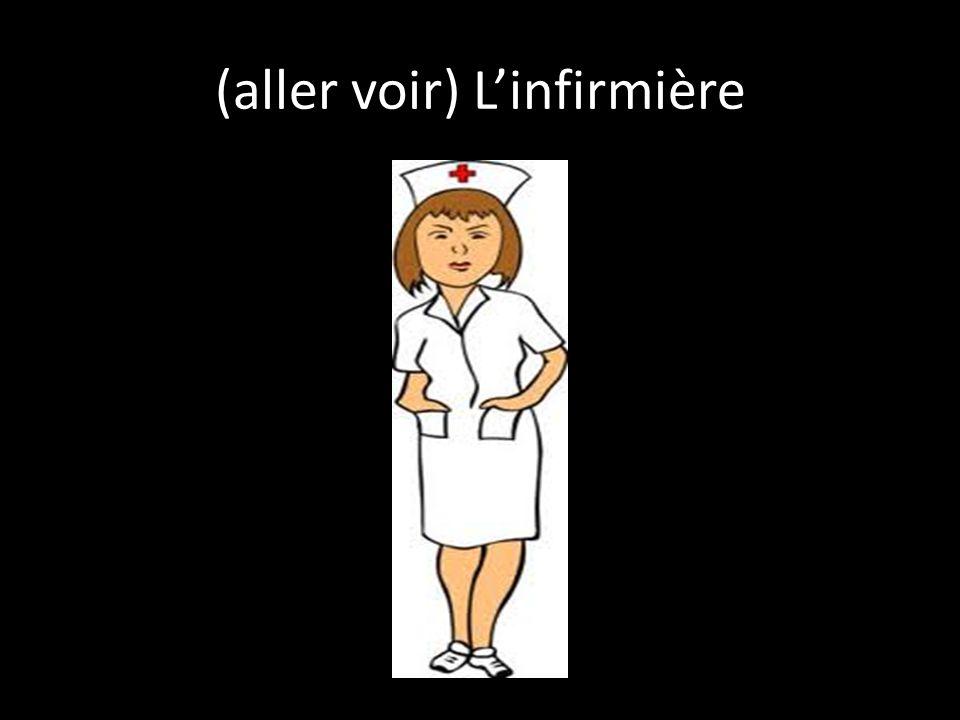 (aller voir) L'infirmière