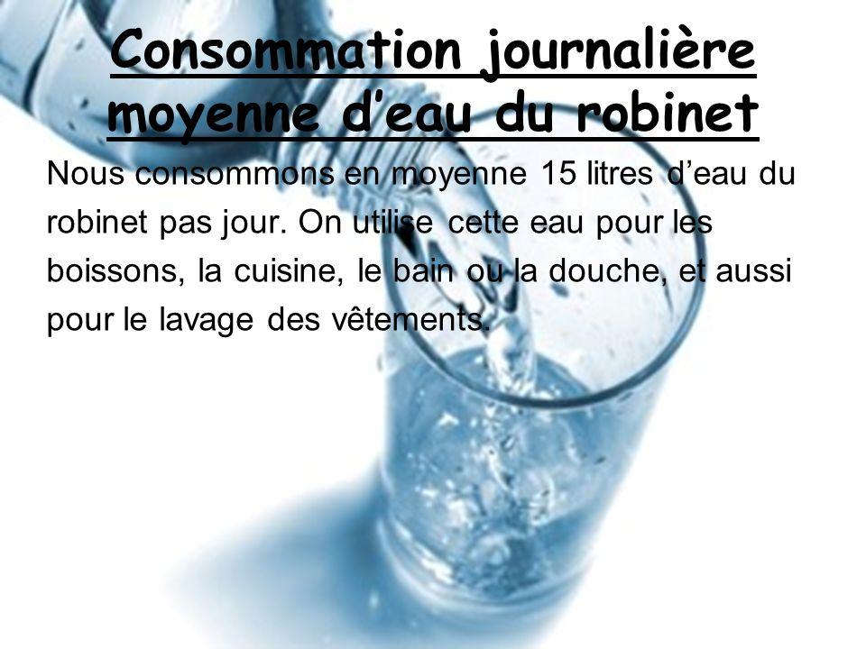 Concours entre 3 me ppt video online t l charger - Consommation moyenne d eau pour une douche ...