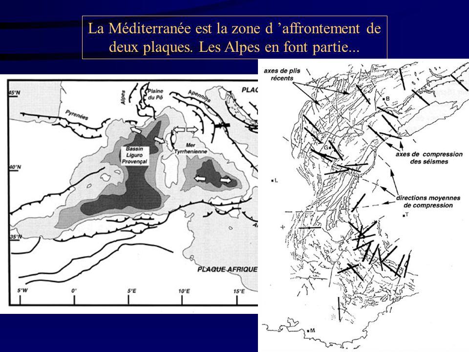 La Méditerranée est la zone d 'affrontement de deux plaques