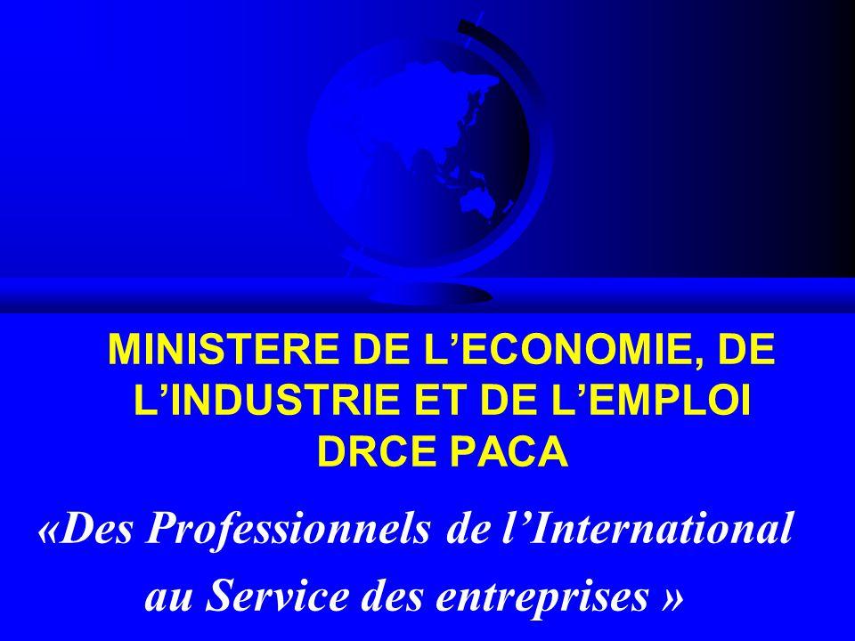 Ministere de l economie de l industrie et de l emploi for Ministere de l exterieur