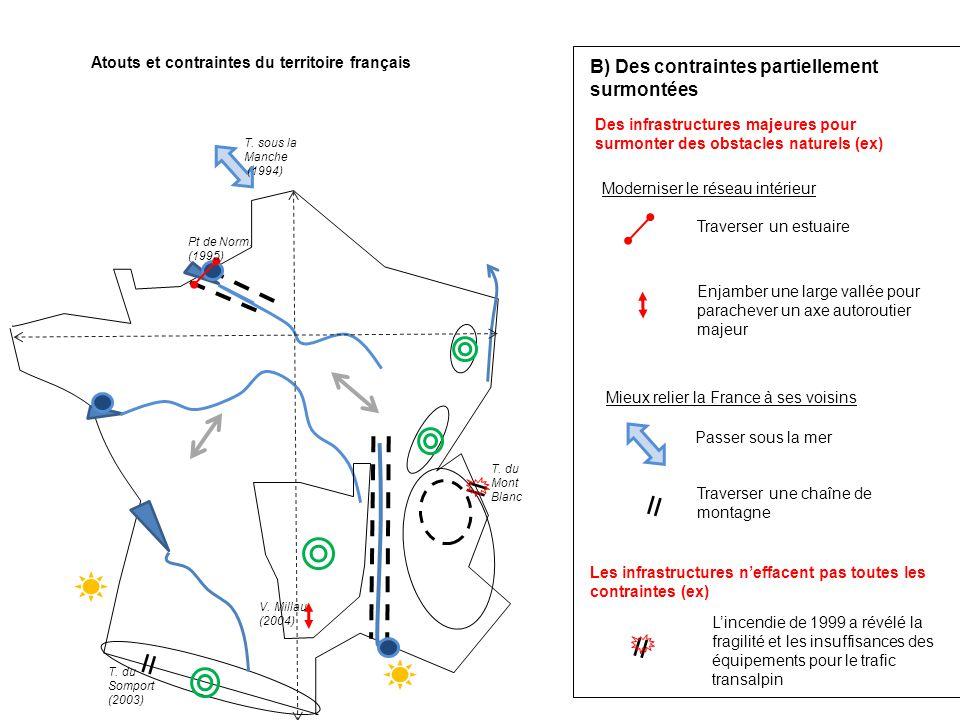 Atouts et contraintes du territoire français