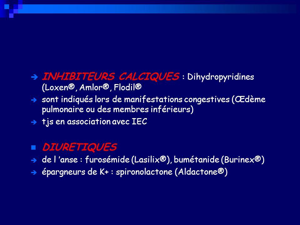 MEDICAMENTS DE L 'INSUFFISANCE CARDIAQUE - ppt télécharger