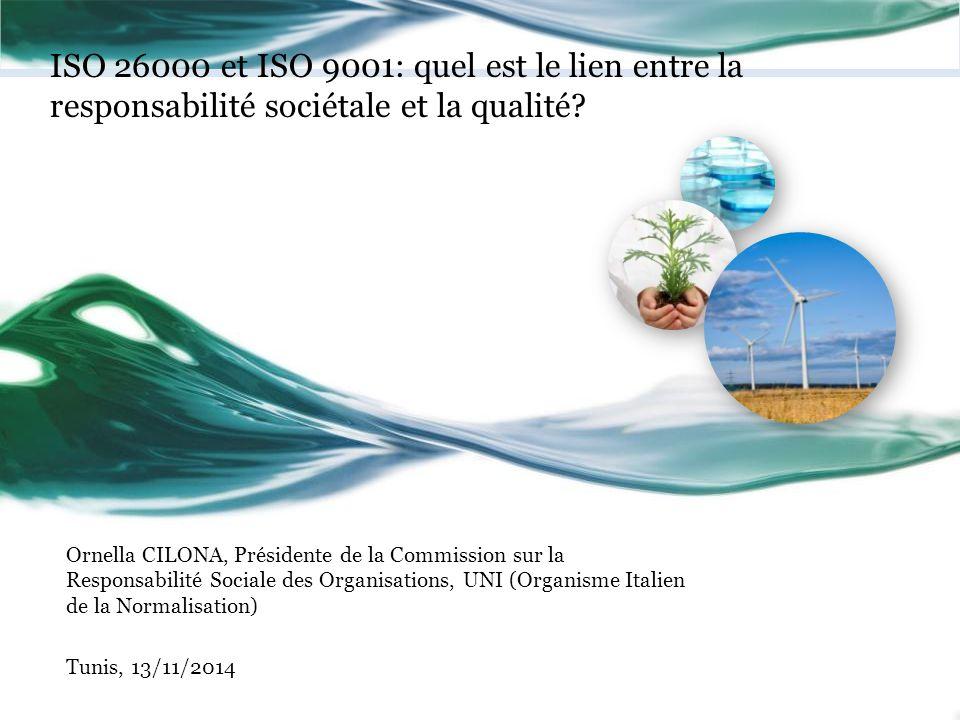 ISO 26000 et ISO 9001: quel est le lien entre la responsabilité sociétale et la qualité
