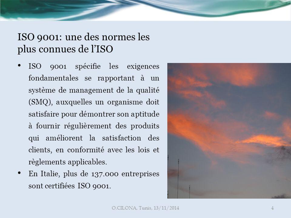 ISO 9001: une des normes les plus connues de l'ISO