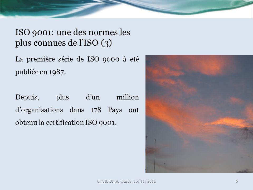 ISO 9001: une des normes les plus connues de l'ISO (3)