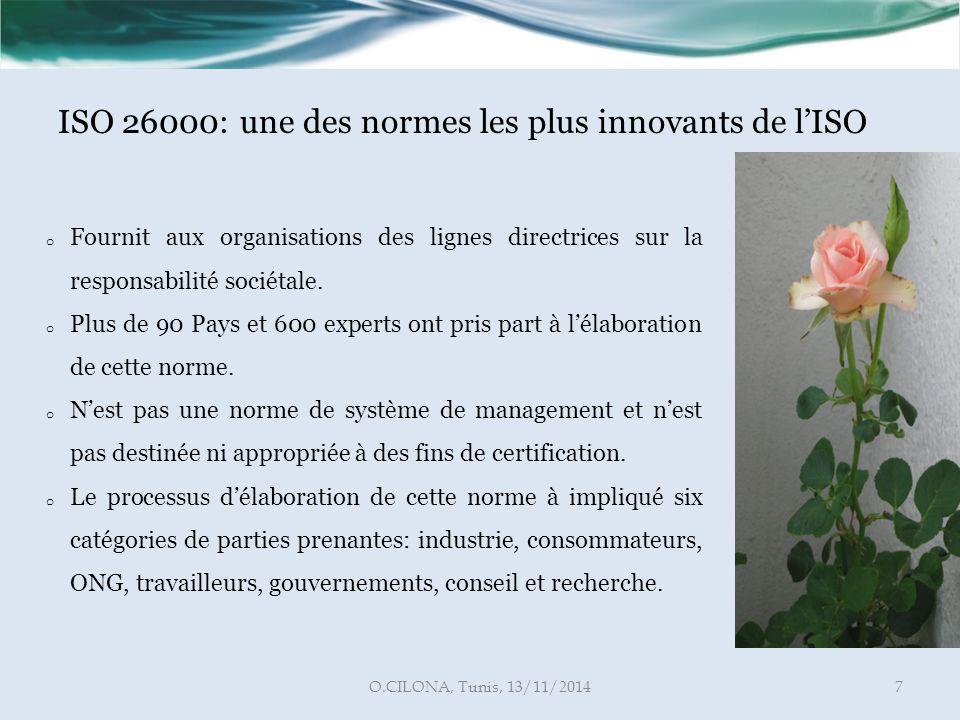 ISO 26000: une des normes les plus innovants de l'ISO