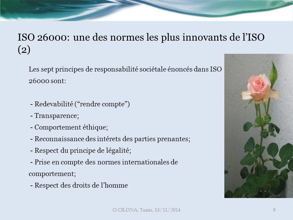 ISO 26000: une des normes les plus innovants de l'ISO (2)
