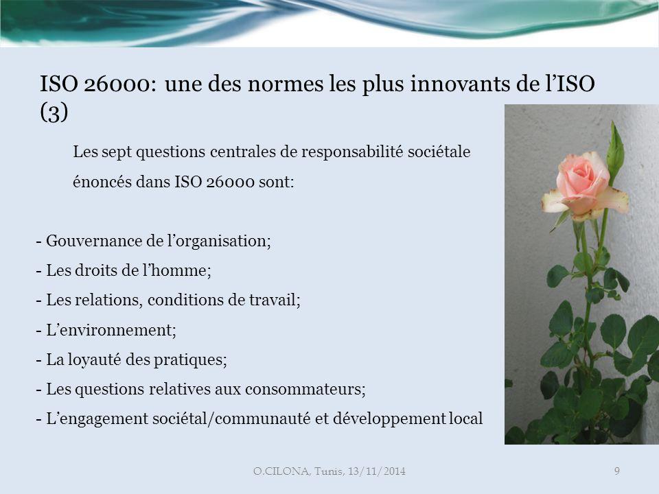 ISO 26000: une des normes les plus innovants de l'ISO (3)