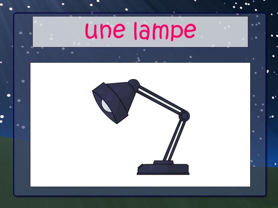 Your Main Point une lampe Your Sub Points
