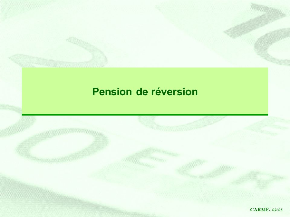 pension réversion pacs