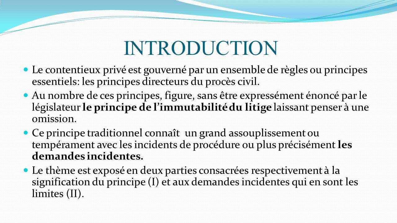 SOMMAIRE : AVANT PROPOS I-Introduction a-Définition d'une ...