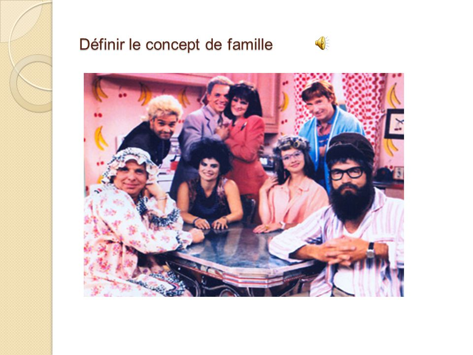 concept famille sociologie