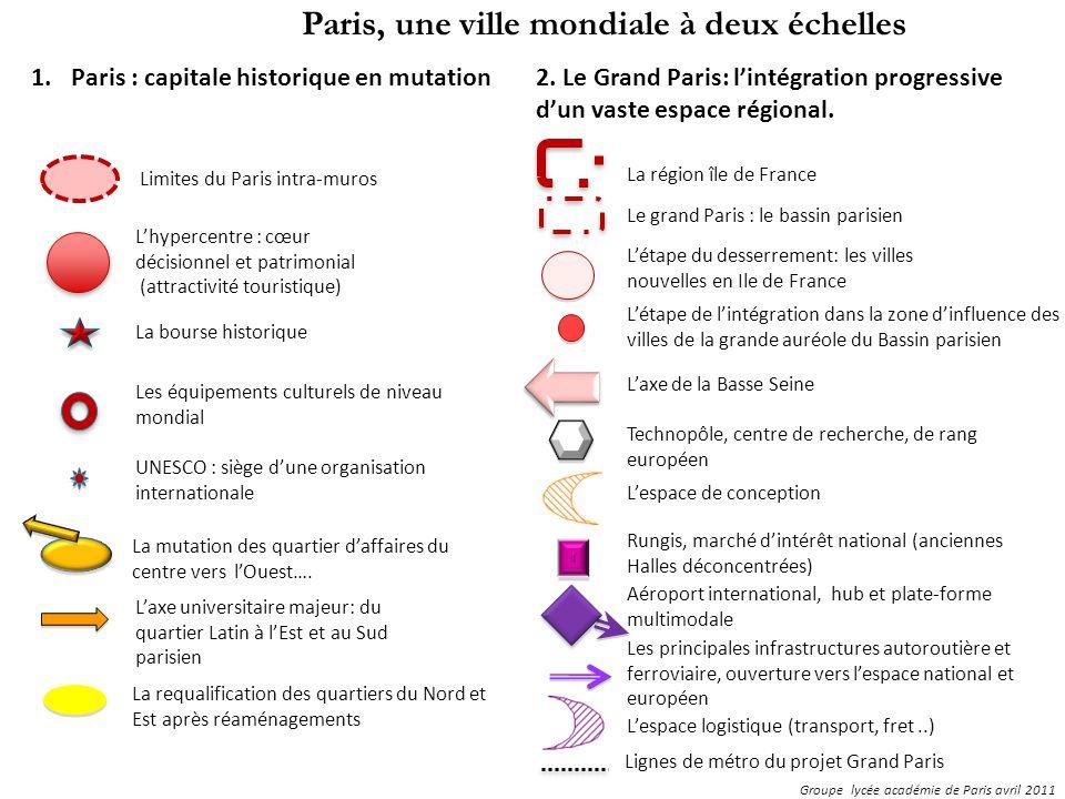 Groupe lycée académie de Paris avril 2011