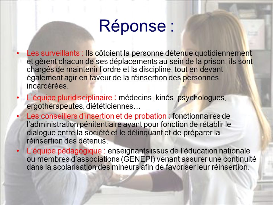 L infirmi re en milieu carc ral ppt video online t l charger - Chambre disciplinaire nationale de l ordre des medecins ...