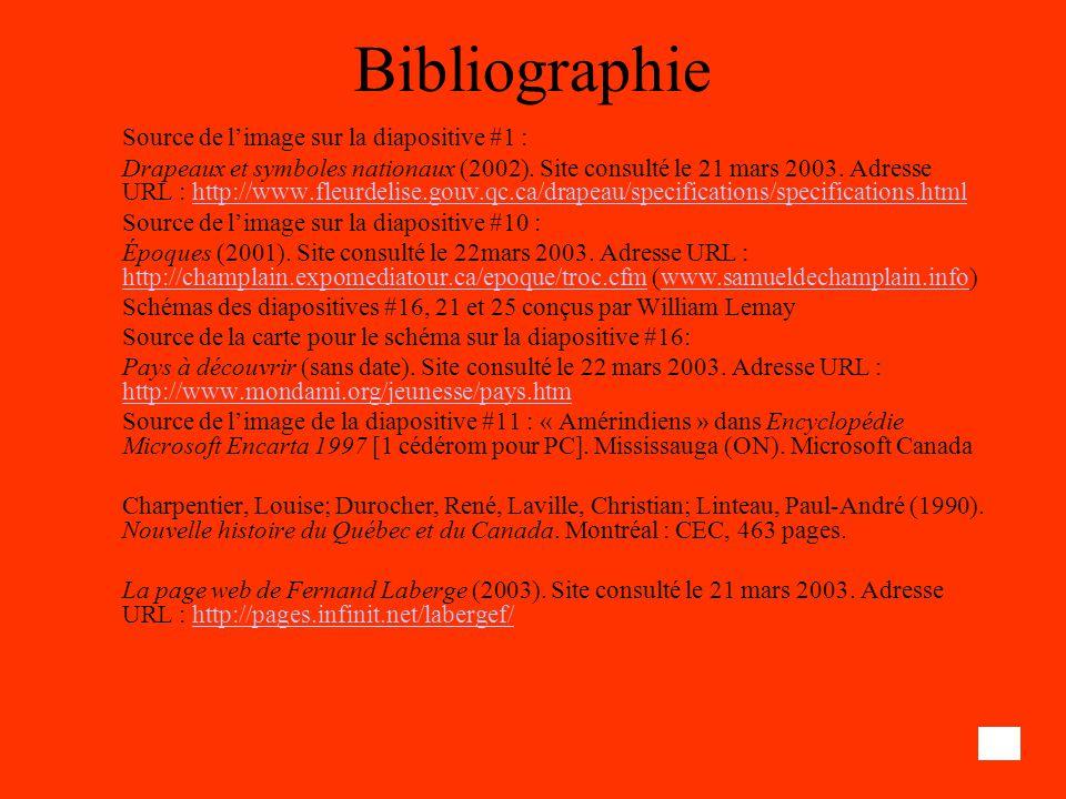 Bibliographie Source de l'image sur la diapositive #1 :